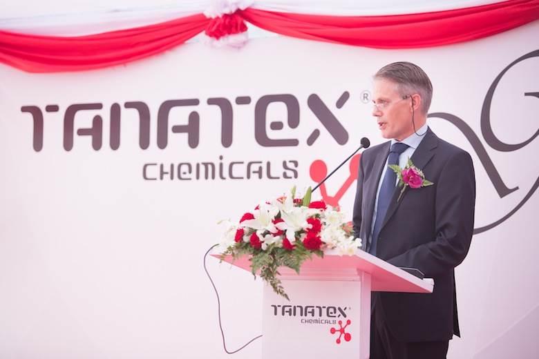 Tanatex opens Thai production plant