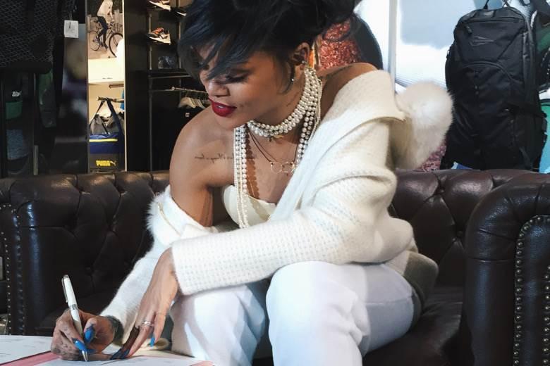 Rihanna named Puma creative director