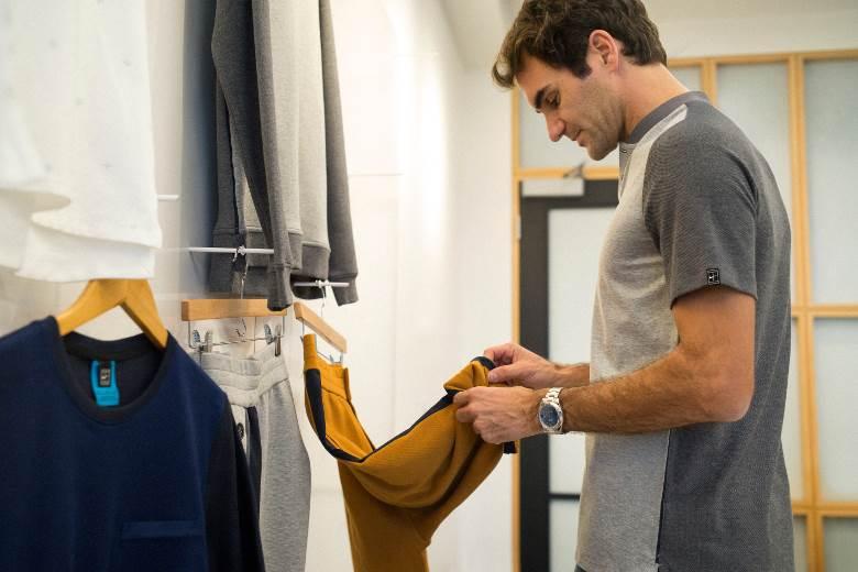 Nike teams up with Federer for fashion range