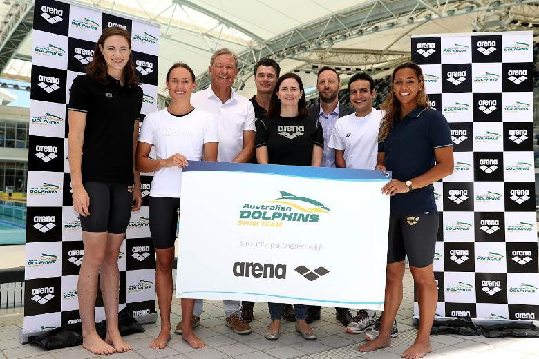 Swimming Australia joins forces with Arena