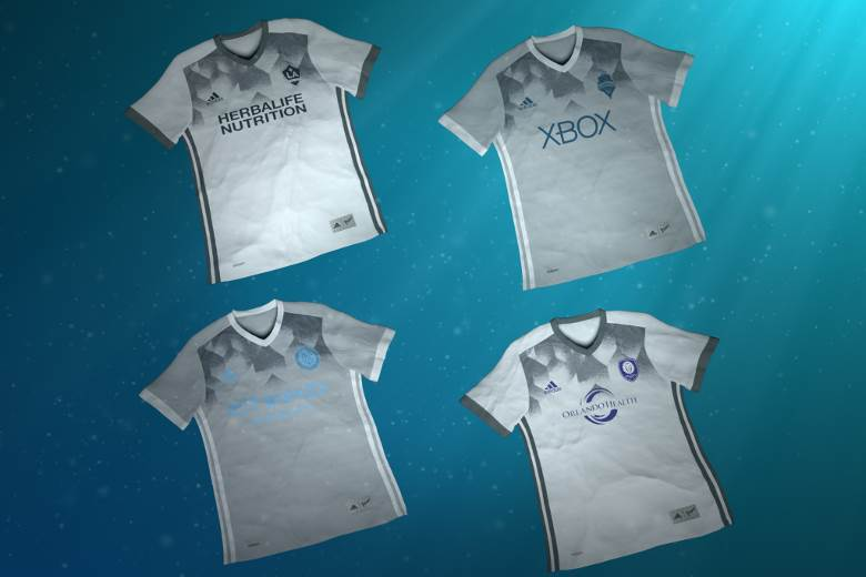 MLS sides to wear Adidas Parley football jerseys