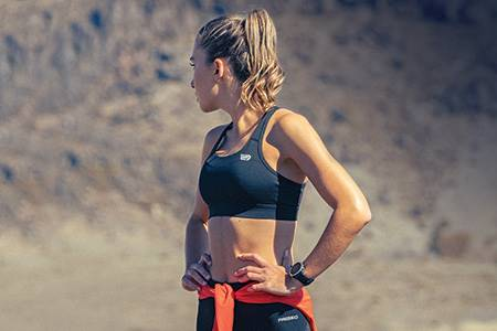 Compression and running garments that combine performance with sustainability...
