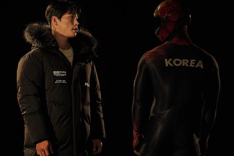 Fila launches 'performance down' in South Korea