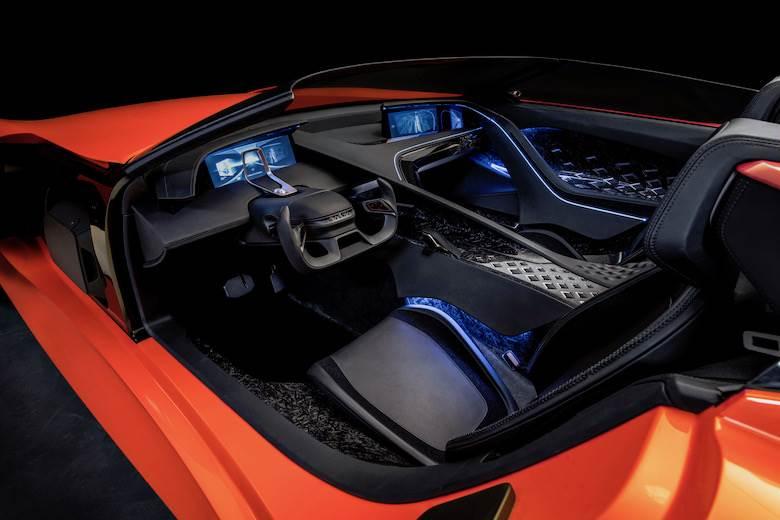 Karma puts Bridge of Weir leather in Shanghai show cars
