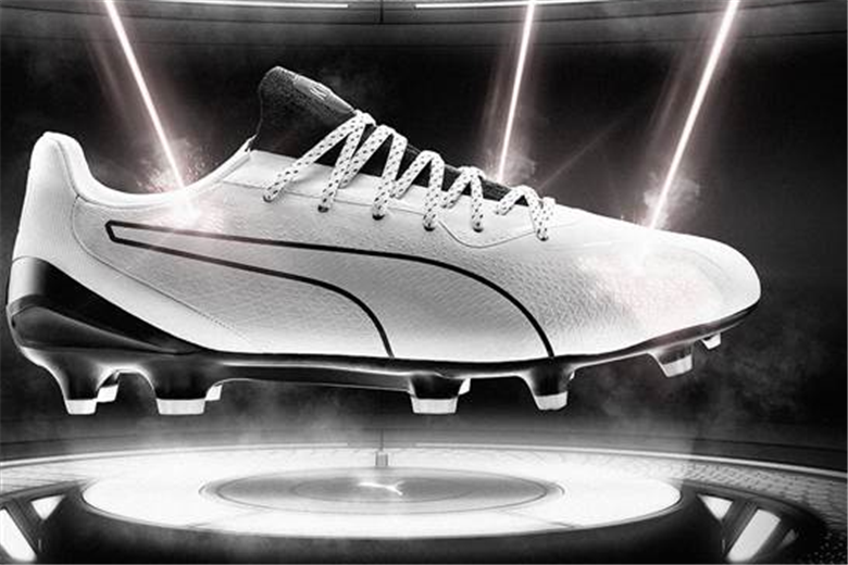 Puma technology engraves k-leather with lasers