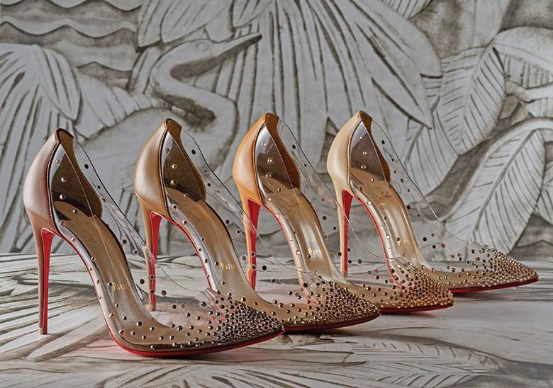 Beast to Beauty: Louboutin is loyal to leather - leather, world leather