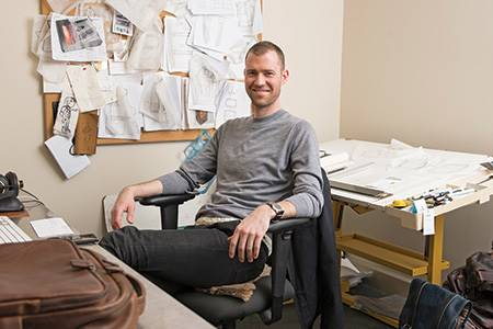Designer and developer of leather collections Moore & Giles has...