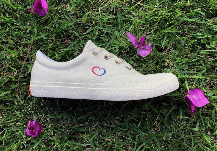 Special shoes for special non-profit project