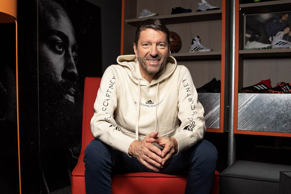 Adidas CEO proves his mettle with pandemic handling