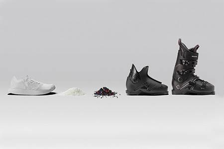 Concept shoe has softer impact - leather, world leather