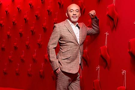 Louboutin is loyal to leather - leather, world leather