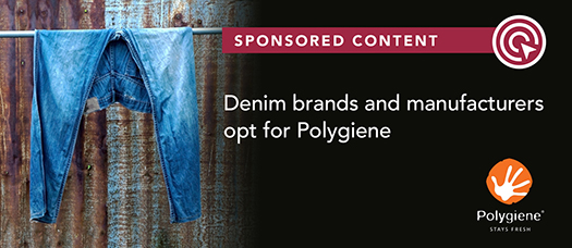 Denim brands and manufacturers opt for Polygiene